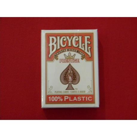 cartes bicycle 100% pvc