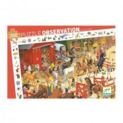 Puzzle d'observation- l'Equitation
