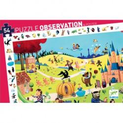 Puzzle d'observation- Les Contes