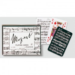 Mozart black & white Coffret de Bridge