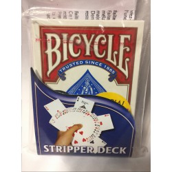 bicycle Stripper deck cartes biseaute