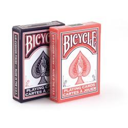 Bicycle poker dos orange