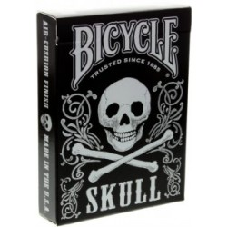Bicycle Skull Silver