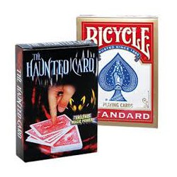 Bicycle  haunted card