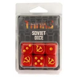 Tanks - Set de dés Soviétiques