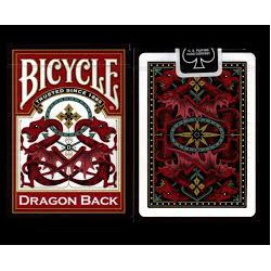 Bicycle Dragon Red