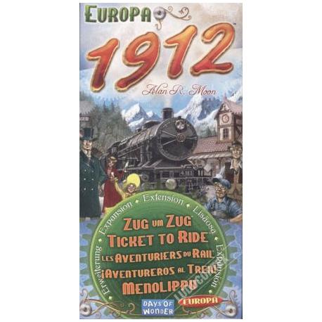 Les Aventuriers du Rail : Europa 1912