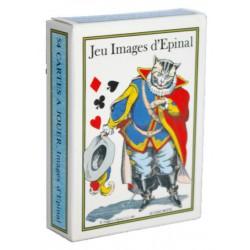 Cartes à jouer Jeu Images d'Épinal