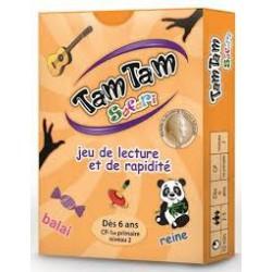 TamTam Safari Lecture et rapidité CP niveau 2