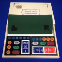 Coffret de jeux de cartes Tradition