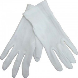 gants de magicien blancs