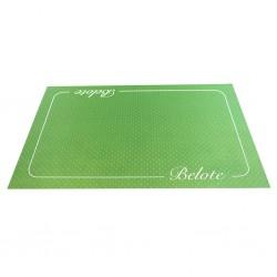 Tapis Belote - Cœur de Pique Excellence Vert