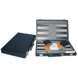 Backgammon  38 cm noir